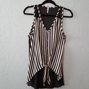 High-low top size S/M